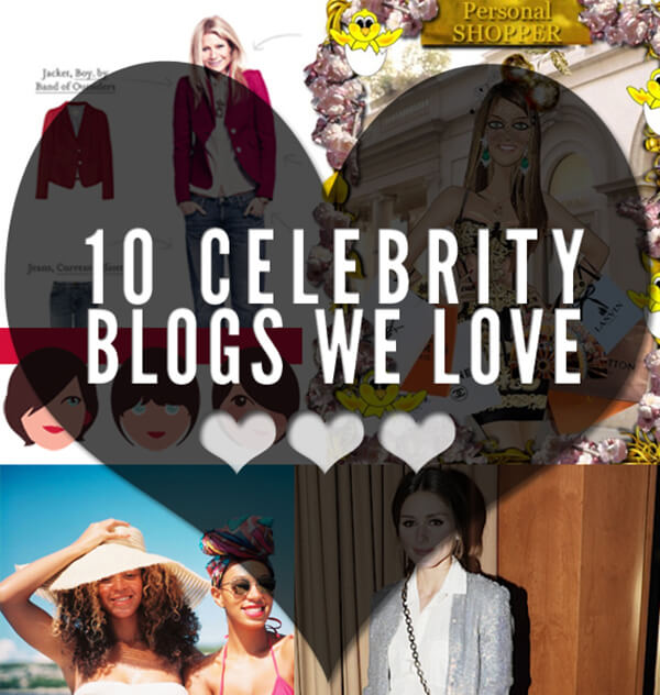 10 celebrity blogs we love