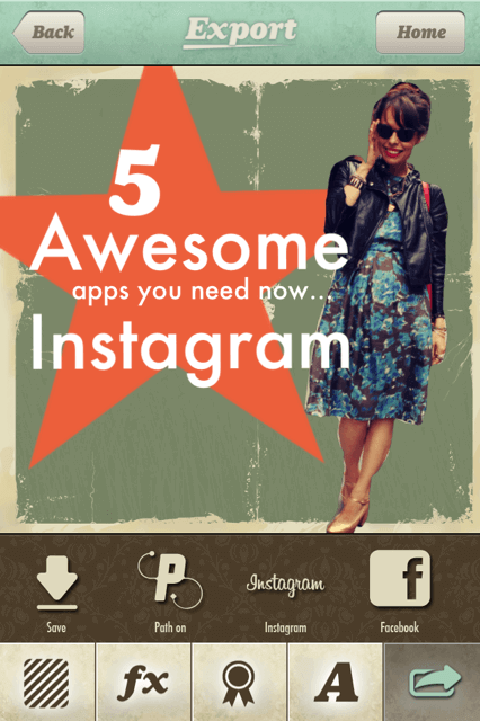 5 awesome apps instagram