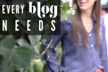 5 things every blog needs