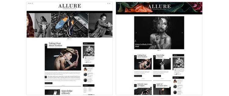 Allure WordPress Theme Preview