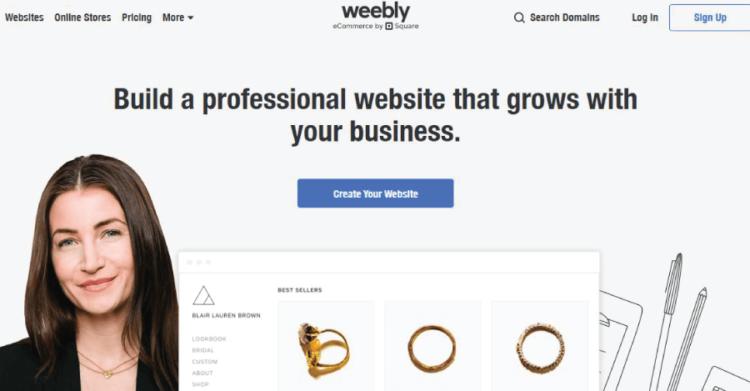 Best Free Blog Sites Weebly