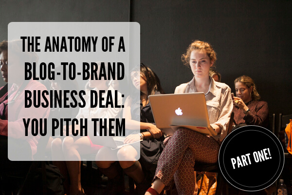Blog Brand Pitch Business Deal
