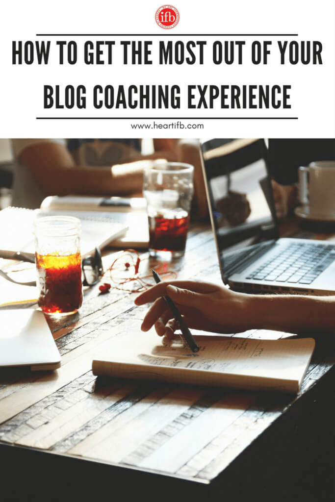 Blog Coaching Experience