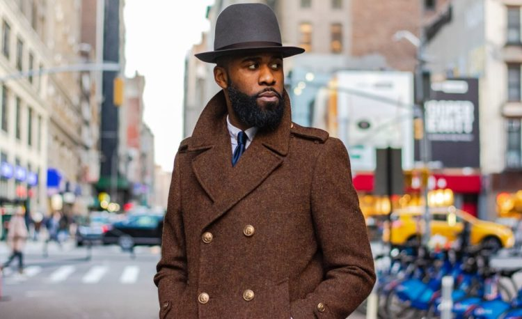 Business Casual Brown Coat