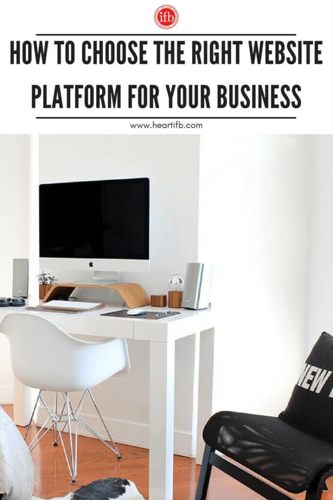 Choose Website Platform Blog