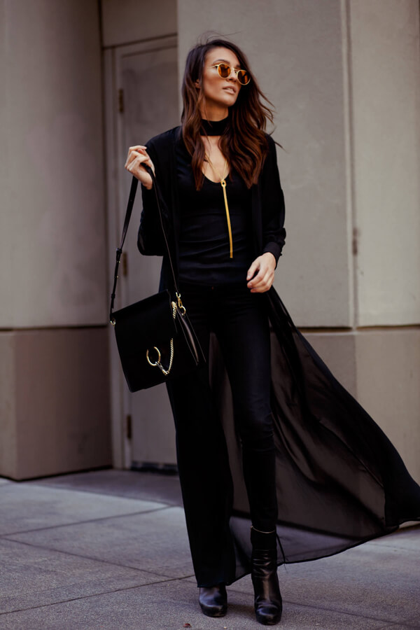 Elise Gabriel in Black