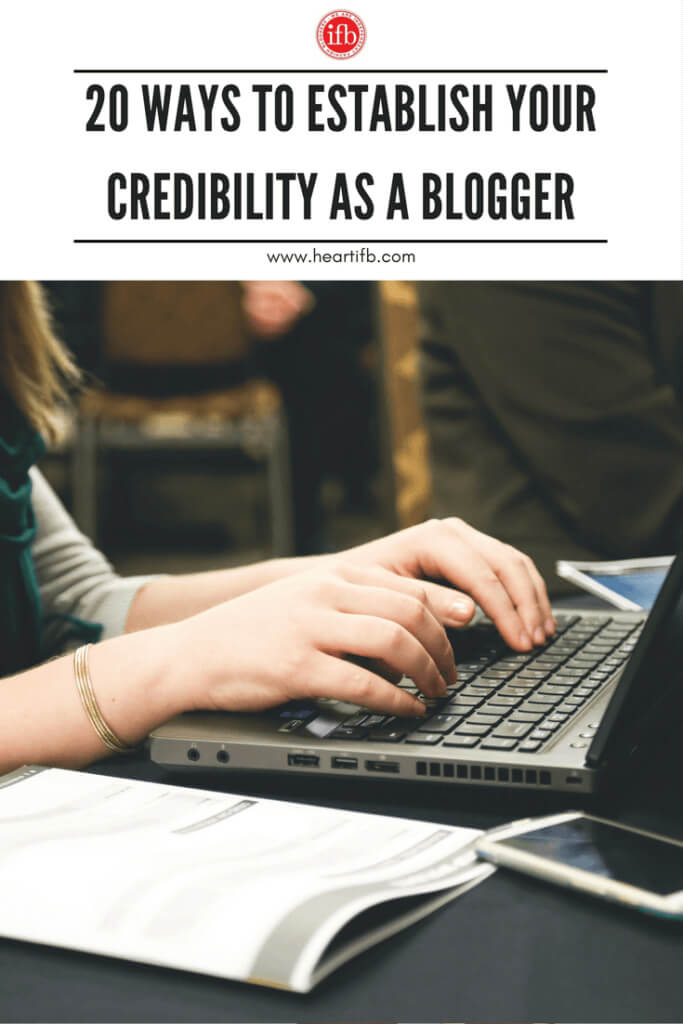 Establish Credibility As Blogger