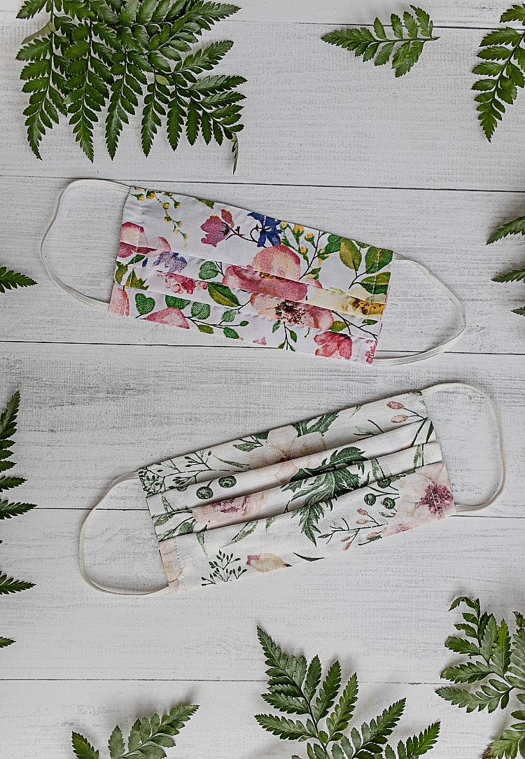 Best Face Masks - Floral Prints on masks