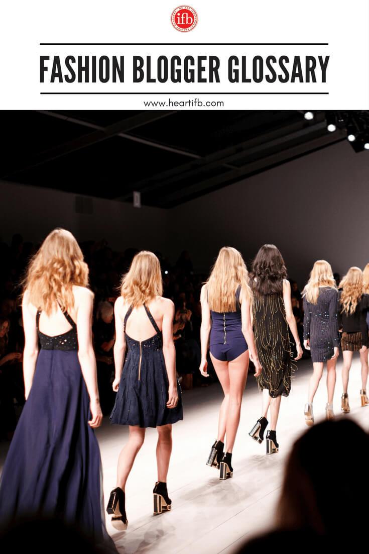 Fashion Blogger Glossary
