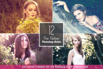 Free Photoshop Actions for Fashion Bloggers
