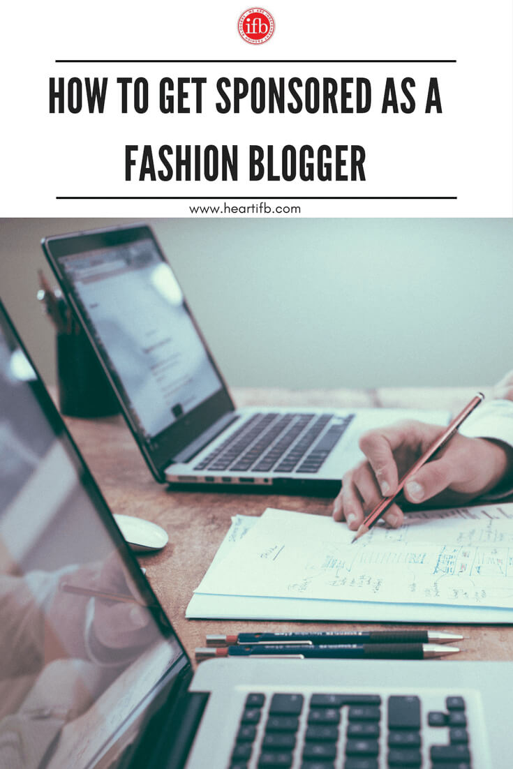Get Sponsored As Fashion Blogger