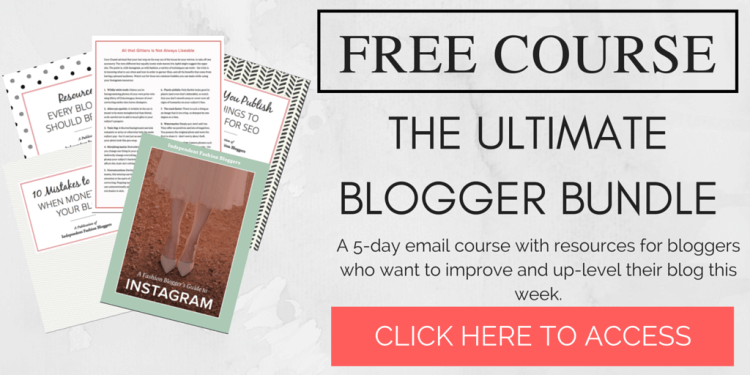ultimate blogger bundle free course