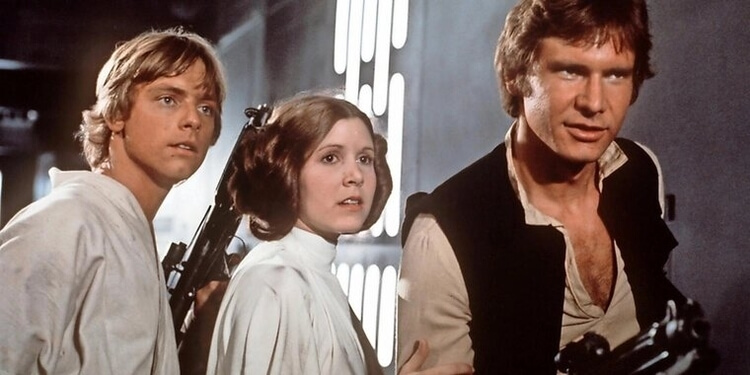 Han, Leia, Luke (Star Wars)