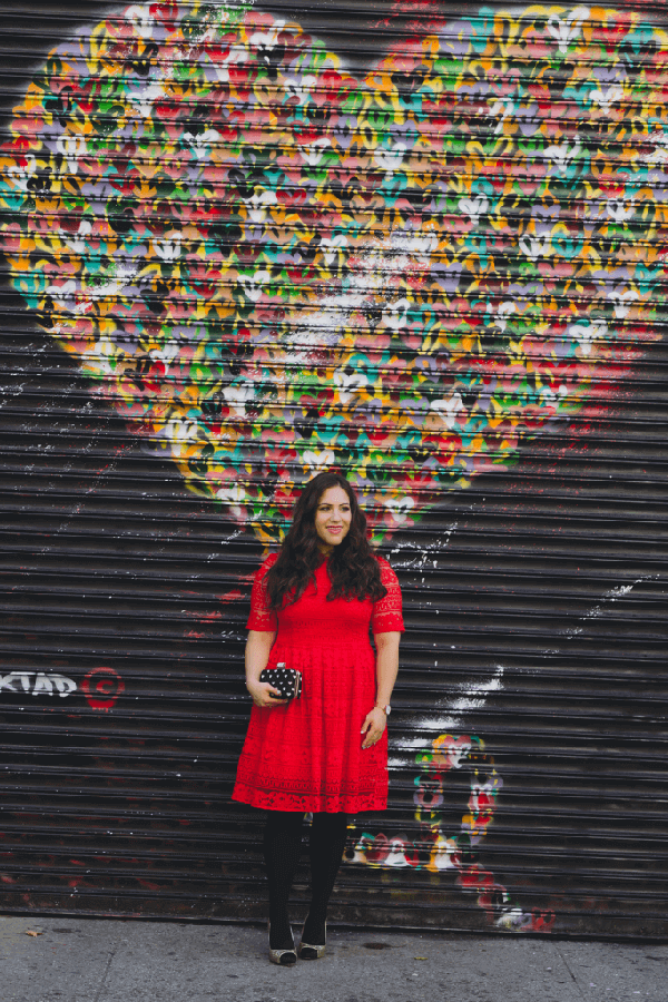 Hearts Wall East Village