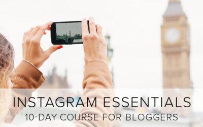 Instagram Essentials BannerInstagram Essentials Banner
