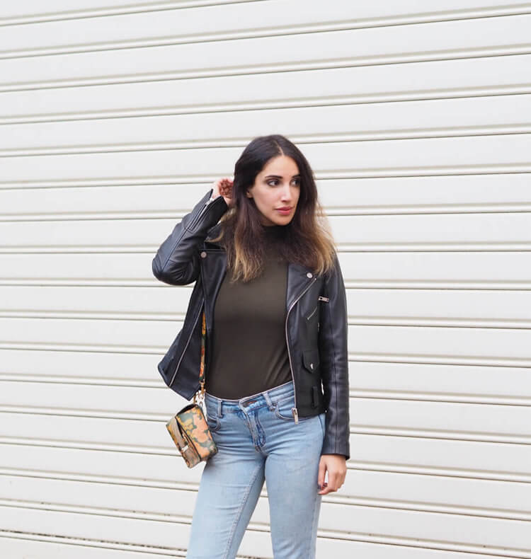 Karen Or leather jacket