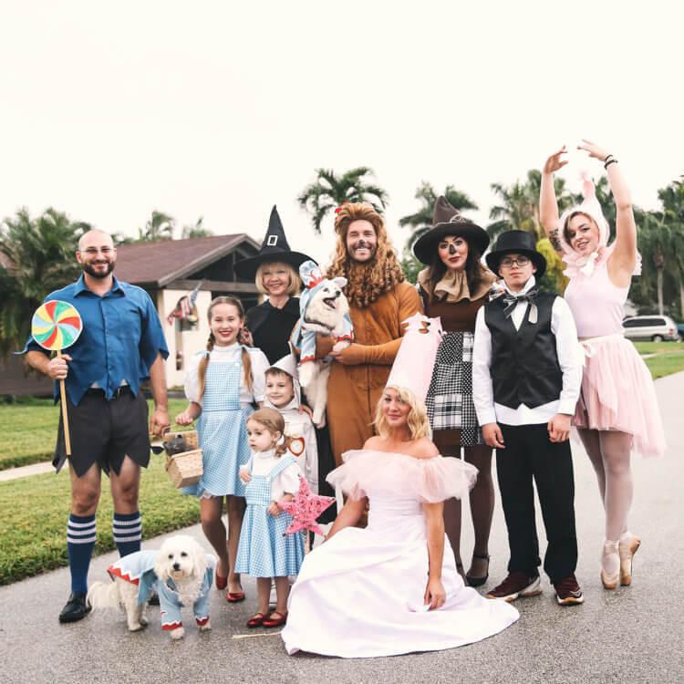 Keiko Lynn Wizard of Oz Group Costume