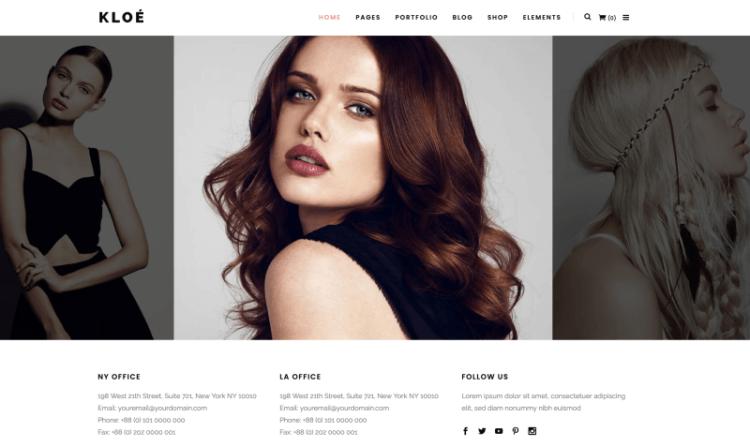 Kloe WordPress Theme Preview