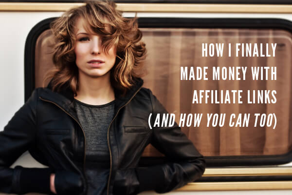 Making Money With Affiliate Links