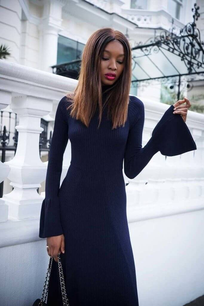 Natasha Ndlovu elegant dress