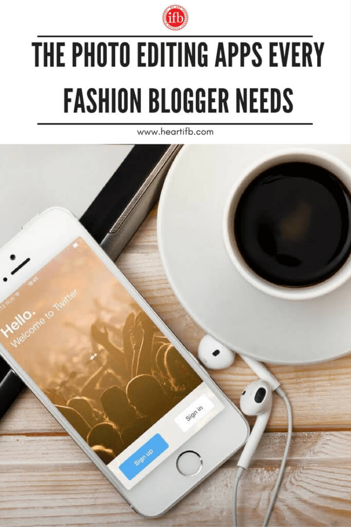 Photo Editing Apps Fashion Blogger