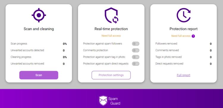 Spam Guard Platform