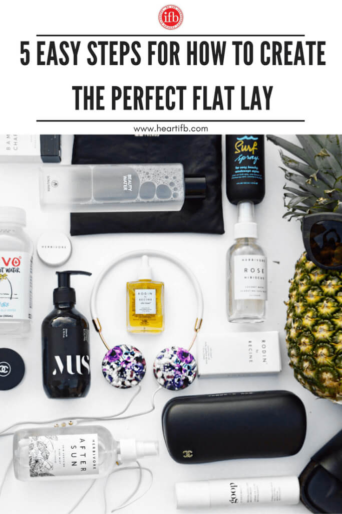 Step Create Perfect Flat Lay