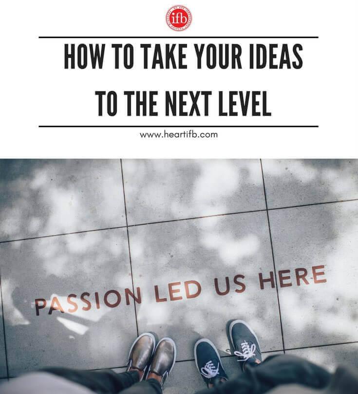 Take Ideas Next Level