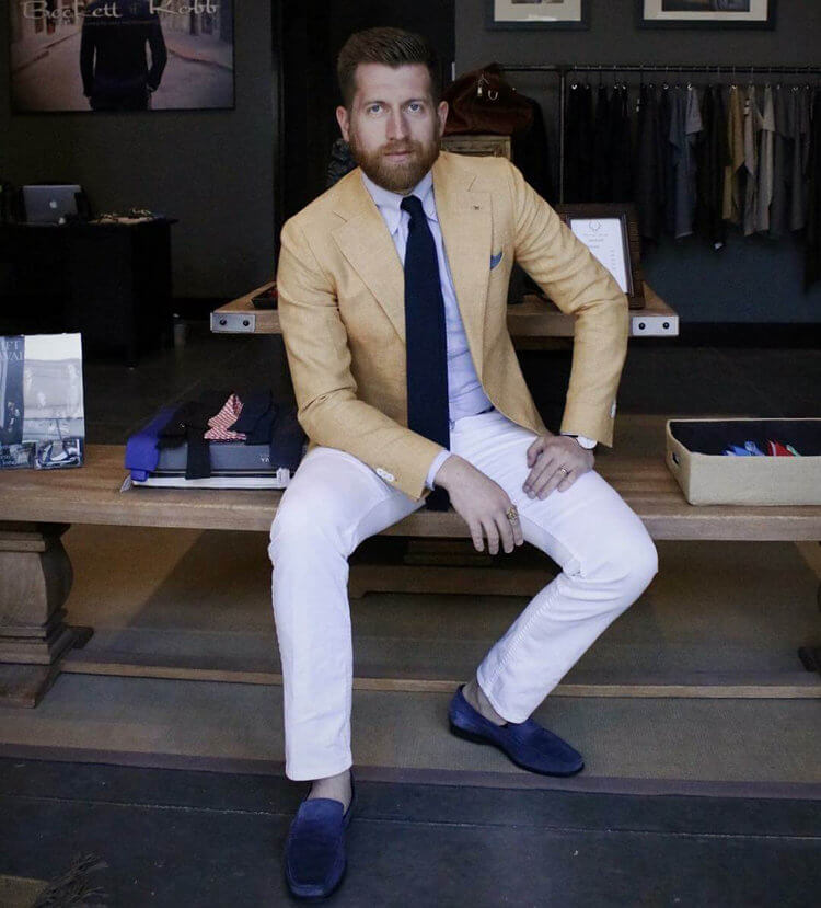 Tanner Guzy Menswear Style Vlogger