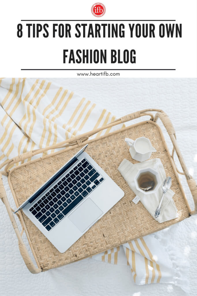 Tips Starting Fashion Blog