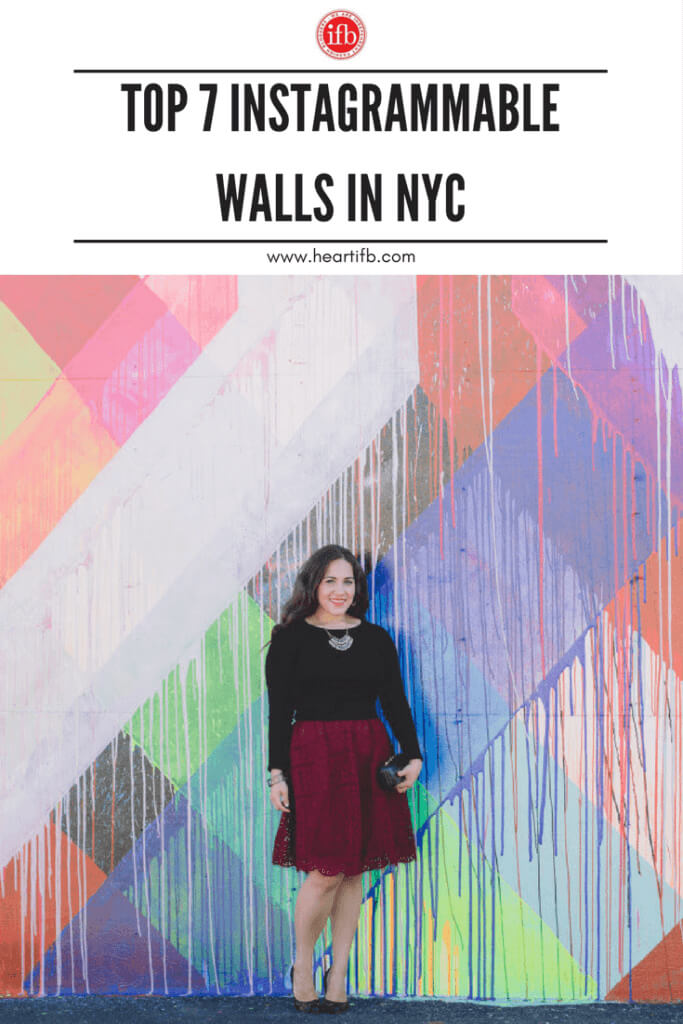 Top Instagrammable Walls NYC