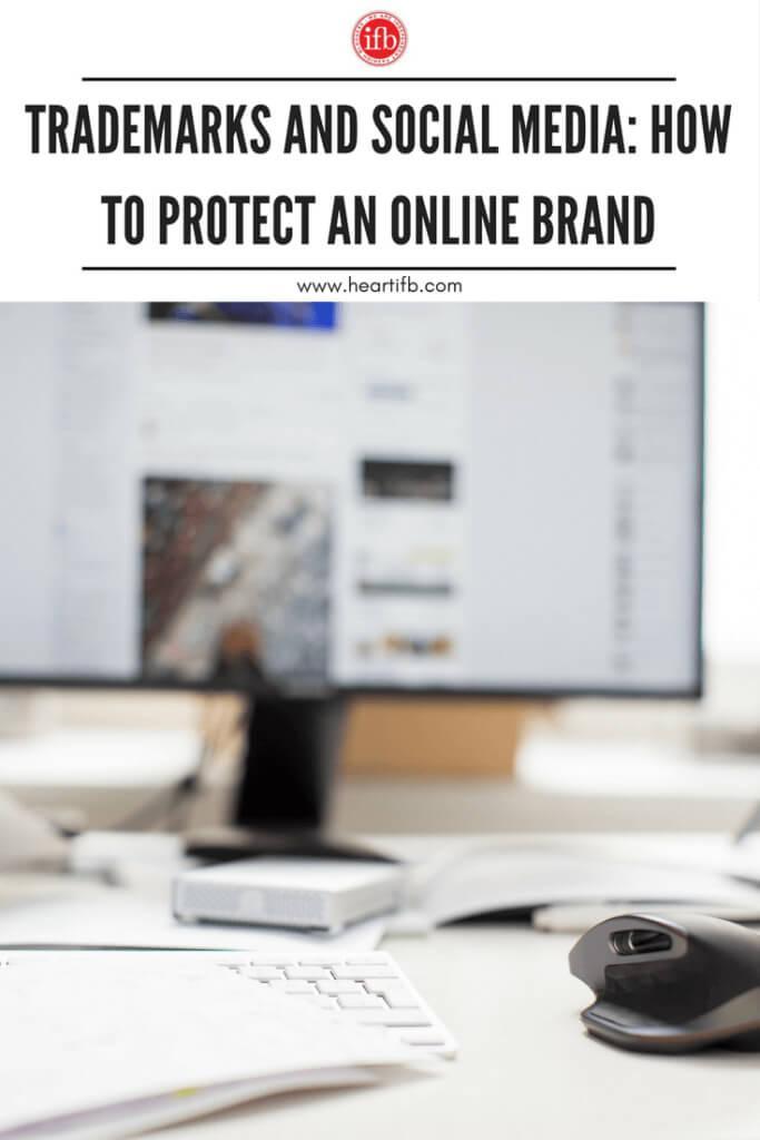 Trademarks Social Media Online Brand