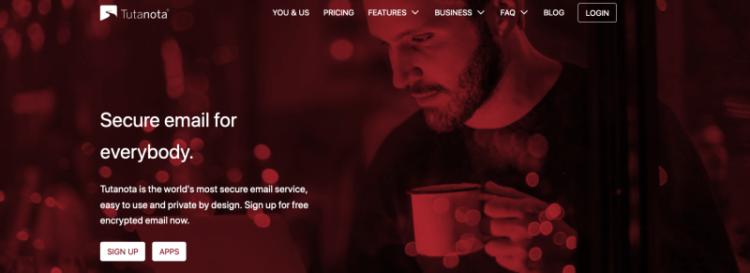 Tutanota Website