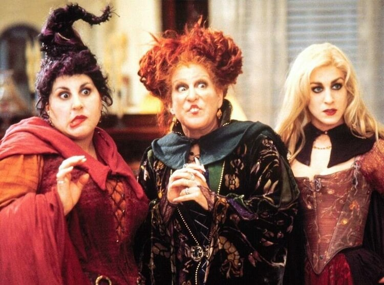 Winnie, Sarah, Mary (Hocus Pocus)