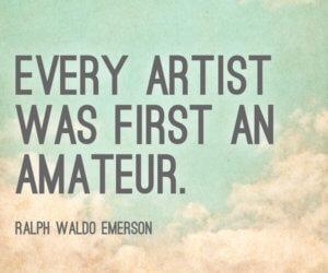 artist first amateur