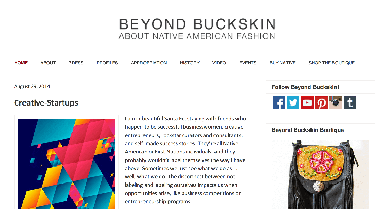 beyond buckskin native american fashion