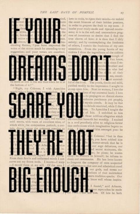 big enough dreams