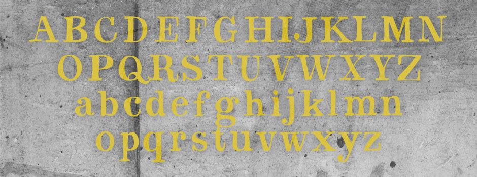 cobbled font 2