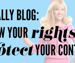 content laws for bloggers