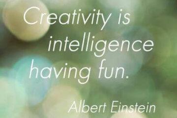 creativity intelligence fun