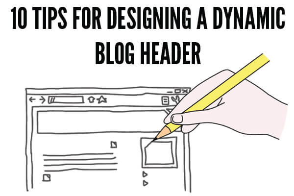 design blog header