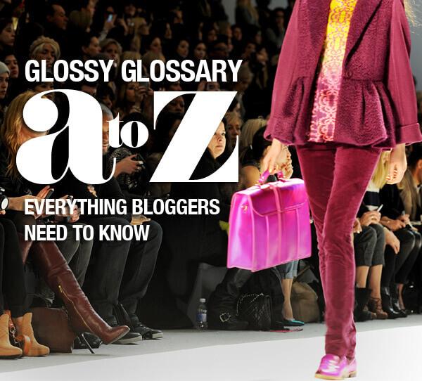 fashion glossary a to z
