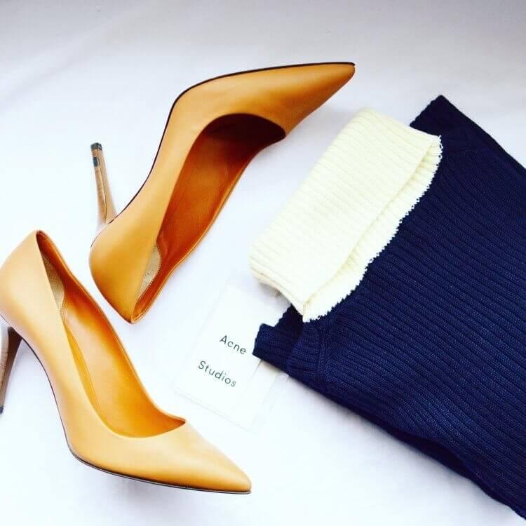 flat lay shoe