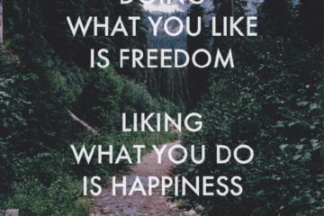 freedom hapiness