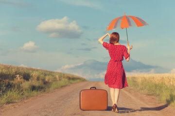 girl bag umbrella