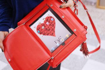 iPad on the Sly Handbag