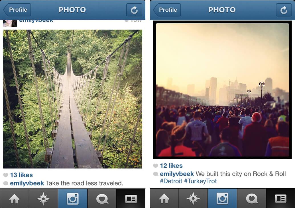 instagram captions emphacize point