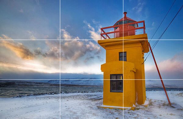 lighthouse rule of thirds Photography 101