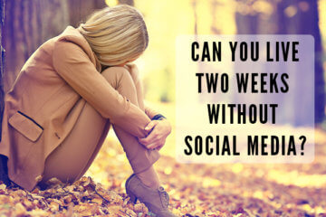 live two weeks without social media