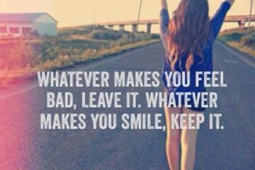 makes smile keep